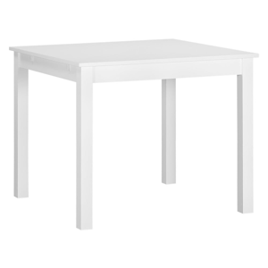Biely drevený rozkladací jedálenský stôl Artemob Haily