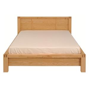 Dvojlôžková posteľ z dubového dreva Artemob Ethan, 180 × 200 cm