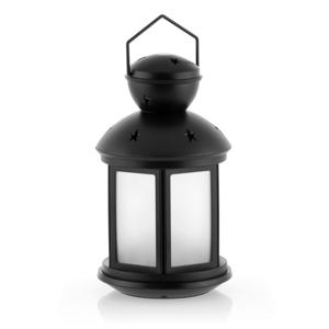 Čierny lampáš s LED osvetlením InnovaGoods