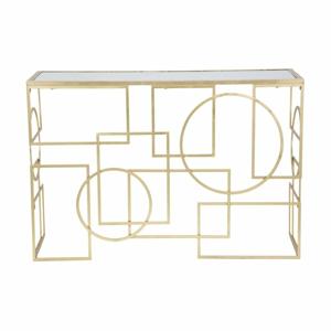 Konzolový stolík so železnou konštrukciou Mauro Ferretti Maiette, 120 x 41 cm