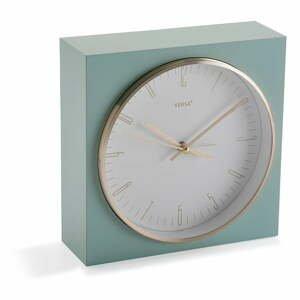 Pastelovozelené stolové hodiny Versa Mint