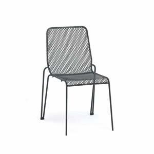 Súprava 4 sivých záhradných stoličiek Ezeis Ambroise