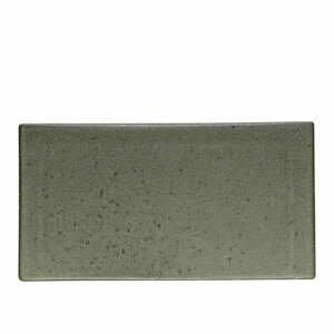 Zelenosivý kameninový servírovací podnos Bitz Mensa, dĺžka30 cm
