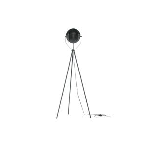 Sivá voľne stojacia lampa WOOOD Lester, výška 155 cm