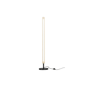 Voľne stojacia lampa z jaseňového dreva WOOOD Sjaak, výška 130 cm