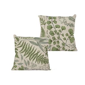 Obliečka na vankúš Linen Couture Botanical, 45×45 cm