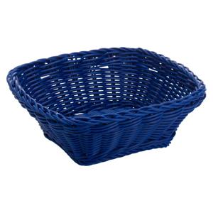 Modrý stolový košík Saleen, 19×19 cm