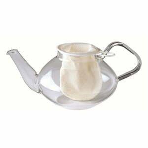 Biela bavlnená čajová sieťka Westmark, ø 7 cm