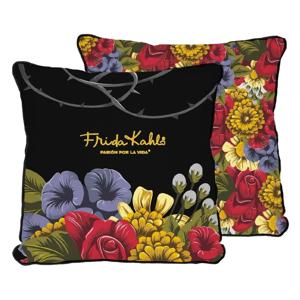Obojstranná obliečka na vankúš s ľanovou prímesou Madre Selva Frida Bunch, 45×45 cm