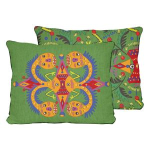 Obojstranná obliečka na vankúš Madre Selva Tamarindo, 50×35 cm