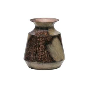 Dekoratívna váza z recyklovaného kovu BePureHome, ø 25 cm