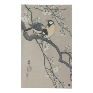 Plagát z ručne vyrábaného papiera BePureHome Blossom, 35 × 25 cm