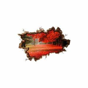 Nástenná samolepka 3D Art Ressno, 135 × 90 cm