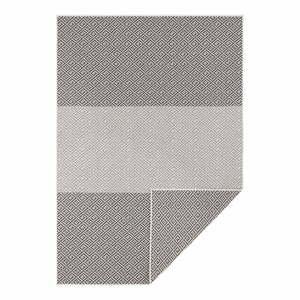 Čierno-biely obojstranný vonkajší koberec Bougari Maui, 160 x 230 cm