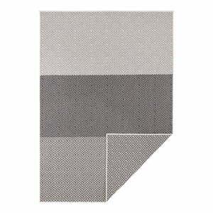 Béžovo-čierny obojstranný vonkajší koberec Bougari Borneo, 160 x 230 cm