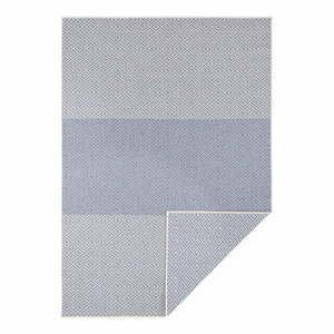 Modrý obojstranný vonkajší koberec Bougari Borneo, 120 x 170 cm