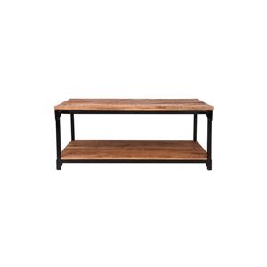 Odkladací stolík s doskou z mangového dreva LABEL51 Sturdy, dĺžka 120 cm