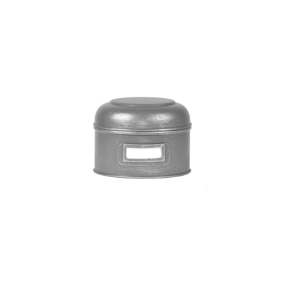 Kovová dóza LABEL51 Antigue, ⌀ 13,5 cm