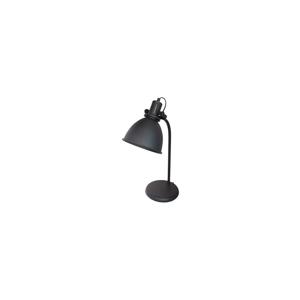 Čierna kovová stolová lampa LABEL51 Spot
