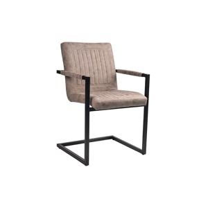 Béžová jedálenská stolička LABEL51 Rossi