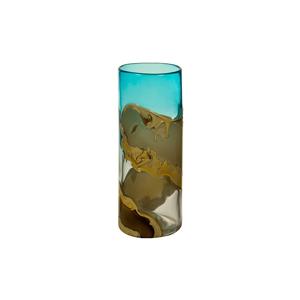Ručne vyrábaná krištáľová váza Santiago Pons Kris, výška 30 cm