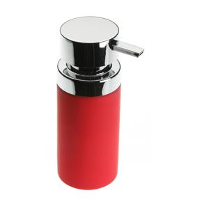 Červený dávkovač na mydlo Versa Clargo