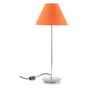 Oranžová stolová lampa Versa Metalina, ø 25 cm