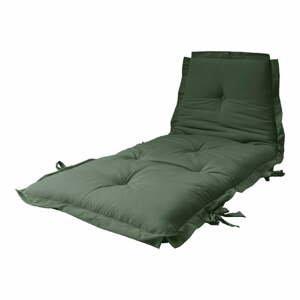 Variabilný olivovozelený futón Karup Design Sit & Sleep Olive Green
