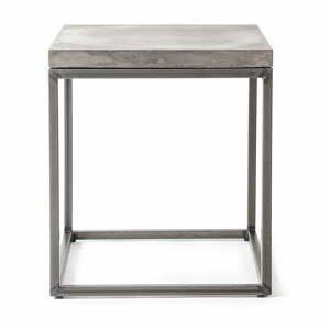 Betónový odkladací stolík Lyon Béton Perspective, 35 x 40 cm