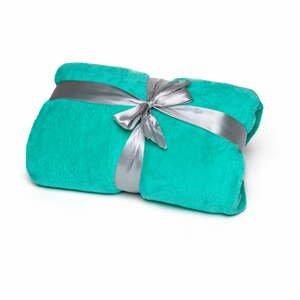 Zelená deka Tarami, 200×150 cm