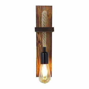 Nástenné svietidlo z borovicového dreva Galinos