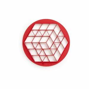 Červené vykrajovadlo na mini dezerty Lékué Pies, ⌀ 30 cm