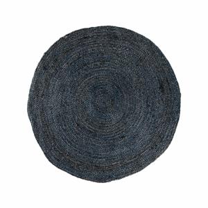 Tmavosivý okrúhly koberec House Nordic Bombay, ø 90 cm