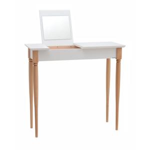 Biely toaletný stolík Ragaba Mamo, šírka 65 cm
