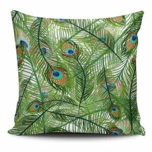 Obliečka na vankúš s prímesou bavlny Cushion Love Jungle, 45 × 45 cm