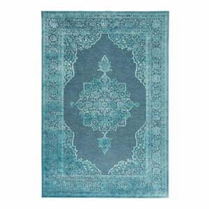 Modrý koberec z viskózy Mint Rugs Willow, 200 × 300 cm