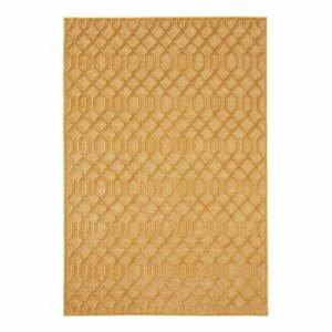 Oranžový koberec z viskózy Mint Rugs Caine, 200 × 300 cm
