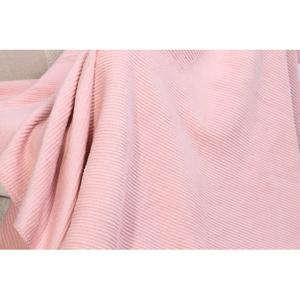 Deka s prímesou bavlny Aksu Pudra, 200 × 150 cm