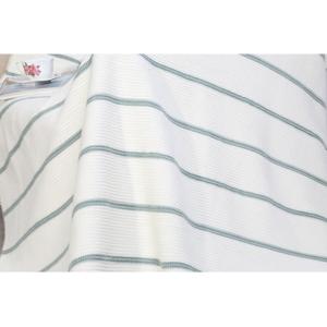 Deka s prímesou bavlny Aksu Mint, 200 × 150 cm