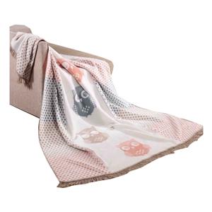 Deka s prímesou bavlny Aksu Wise, 220 × 180 cm