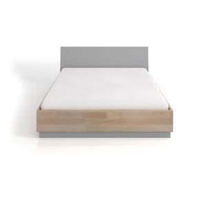 Dvojlôžková posteľ z bukového a borovicového dreva SKANDICA Finn BC, 160 x 200 cm