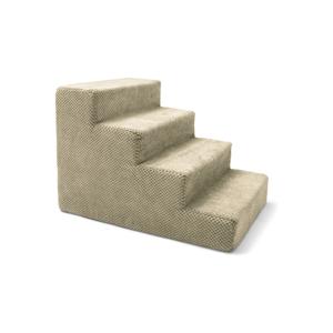 Béžové schody pre psov a mačky Marendog Stairs, 40 × 60 × 40 cm