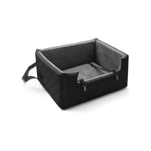 Čierna prepravná taška pre psa do auta Marendog Travel, 50 × 57 × 25 cm