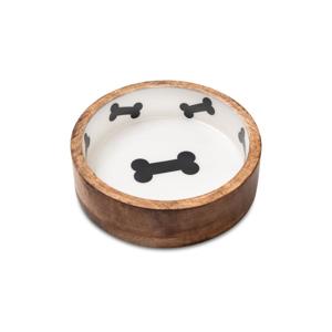 Drevená miska pre psov Marendog Bowl, ⌀ 23 cm