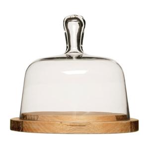 Doska na syr so skleneným poklopom Sagaform Oval