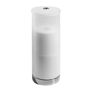 Transparentný úložný box na toaletný papier iDesign Aria