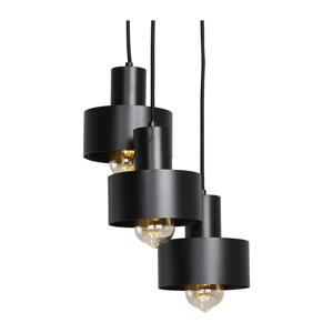Čierne závesné svietidlo Custom Form Fay