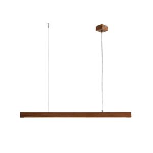 Závesné svietidlo z orechového dreva Custom Form Line Plus L Woody