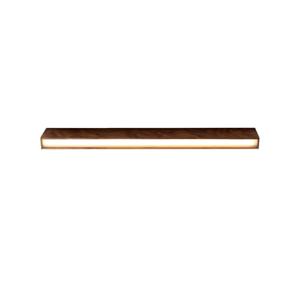 Stropné svietidlo z orechového dreva Custom Form Line Plus L