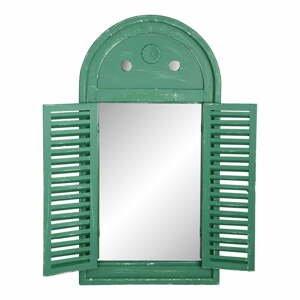 Zelené francúzske zrkadlo Ego Dekor Hullo